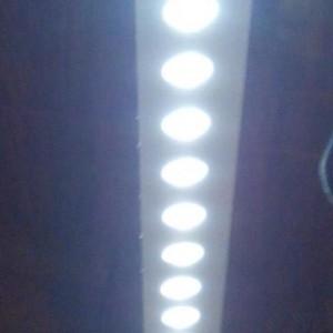 Вид светильника снизу