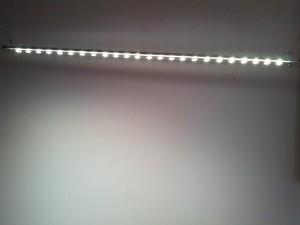 Освещение светильником верхнего света
